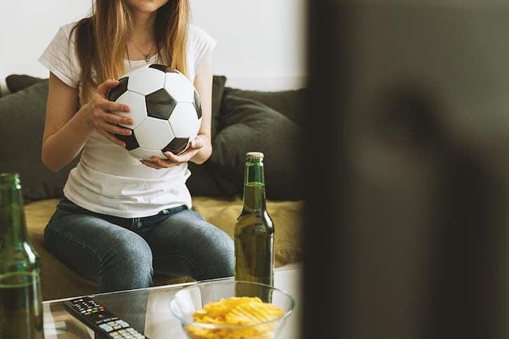 girl-watching-soccer-match